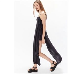 New urban outfitters $79 romper dress side slits